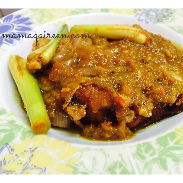 resepi ikan merah masak cili padi  sedap  mudah mamaqaireen Resepi Masak Ikan Lumek Enak dan Mudah