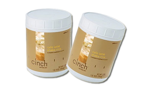 Cinch Shake Mix (Cafe Latte + Cafe Latte)