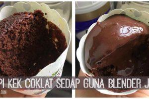 Kek-Coklat-Kukus-Sedap-Guna-Blender-Je