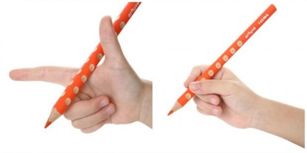 cara memegang pensil dengan betul