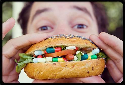 suplemen/makanan tambahan