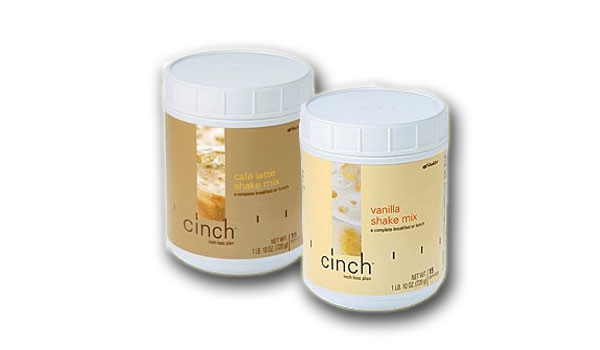 Cinch Shake Mix (Cafe Latte + Vanilla)