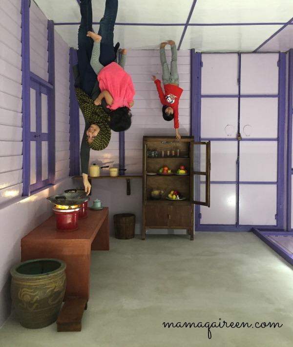 Lukisan 3D Antara Tempat Menarik Di Ipoh - Funtasy House Trick Art