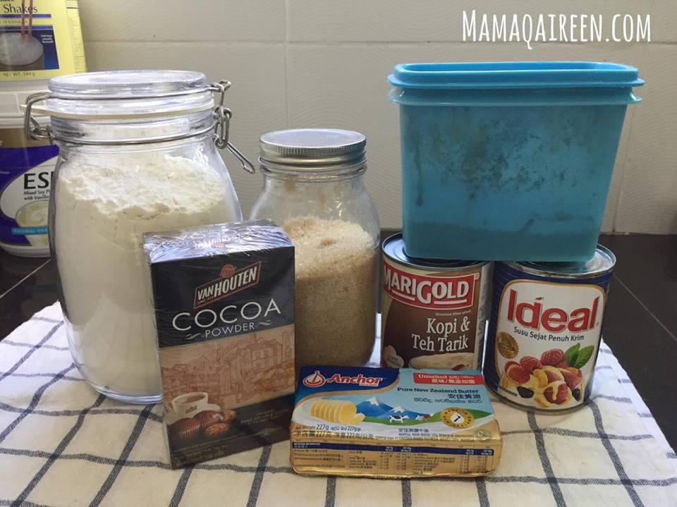 Kek-Coklat-Kukus-Sedap-Guna-Blender 4