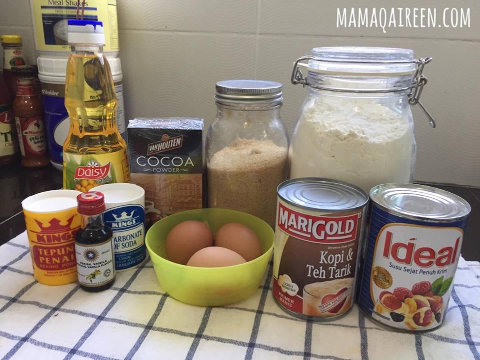 Kek-Coklat-Kukus-Sedap-Guna-Blender