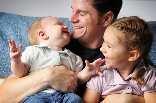 kids & dad