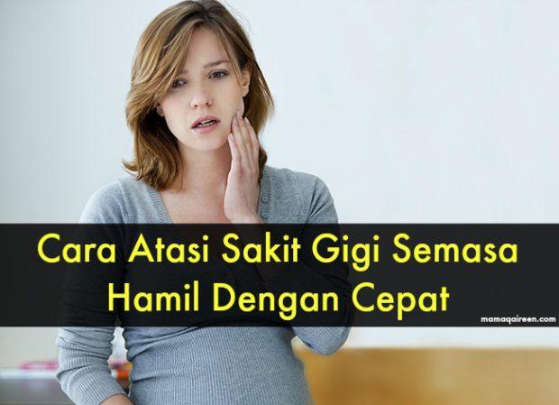 sakit gigi ketika hamil