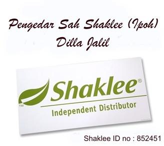 Pengedar Shaklee dan Cod Shaklee Di Ipoh Perak